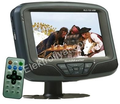 Goldmaster klc 722 oto televizyonu